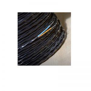 700-071 Crni najlonski omotač od 70°C sa oklopom od nerđajućeg čelika