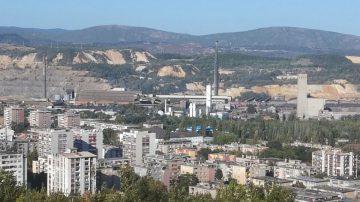 Panorama Bora - Rudarski grad