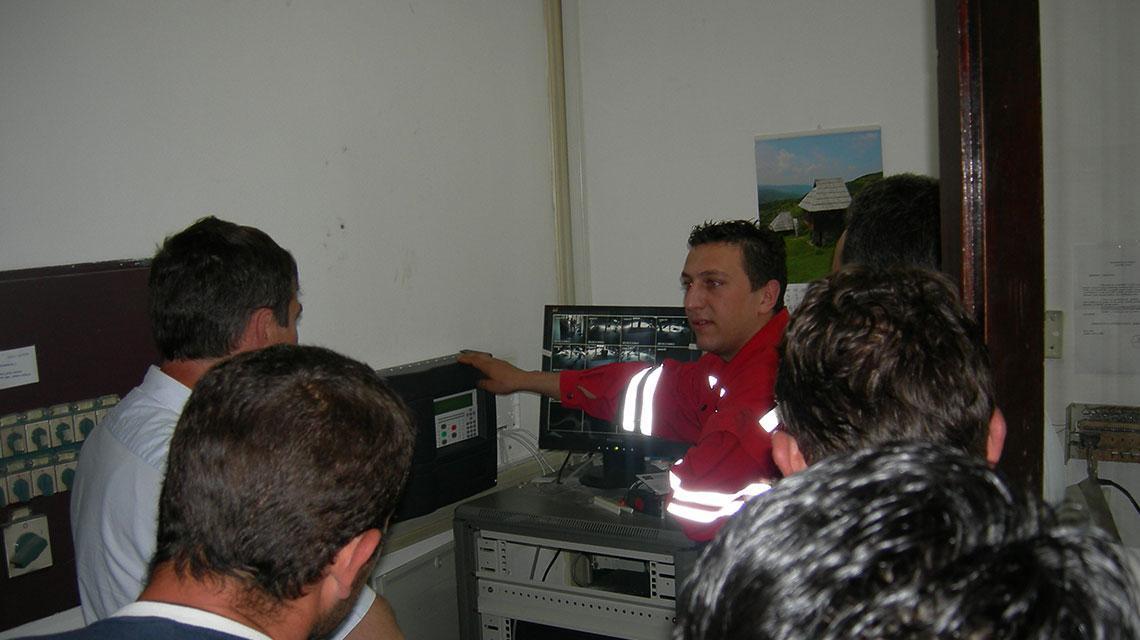 Zaštita od požara na vlasinskim hidroelektranama